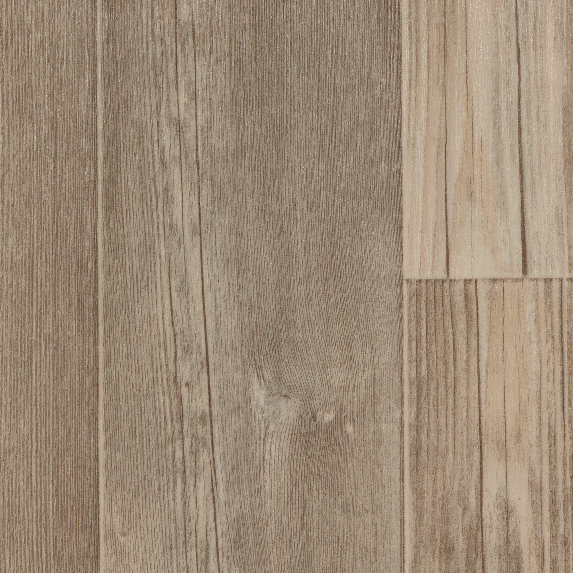 BODENMEISTER BM70400 Vinylboden PVC Bodenbelag Meterware 200 300 400 cm breit Holzoptik Diele Eiche creme wei/ß
