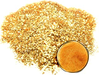 "Eye Candy Mica Powder Pigment/Flake ""14k Nugget Gold"" (50g) Multipurpose DIY Arts and Crafts Additive 