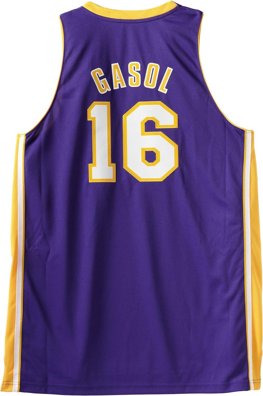 Amazon.com : NBA Los Angeles Lakers Pau Gasol Swingman Jersey ...