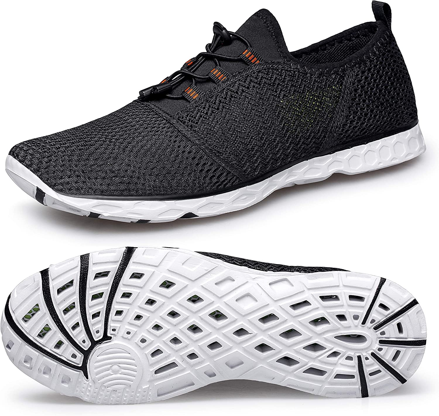 Aqua Water shoes Men Women - Quick-Dry Lightweight for Summer Water Sports Outdoor Beach Pool Exercise