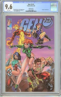 Gen 13#1 Variant Cover A CGC 9.6 White Pages (1995) 2045715008