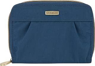 travelon rfid blocking pleated wallet