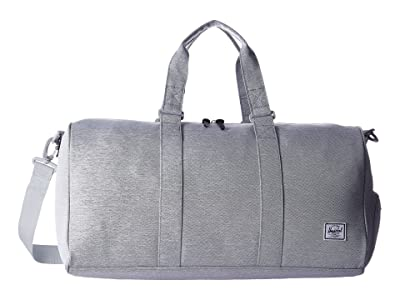 Herschel Supply Co. Novel Mid-Volume (Light Grey Crosshatch) Duffel Bags