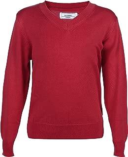 mimixiong HI8 Store Boys Autumn Winter V Neck Sweater Children Knitwear Striped School Vest