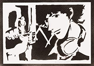Poster Cowboy Bebop Spike Spiegel Handmade Graffiti Street Art - Artwork