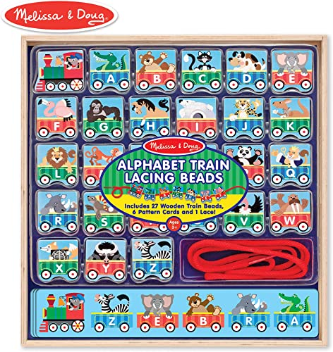 Melissa & Doug ABC Lacing Train by Melissa & Doug