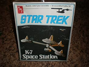 1976 Vintage Star Trek AMT Model Kit K-7 K 7 Space Ship From The Episode The Trouble With Tribbles