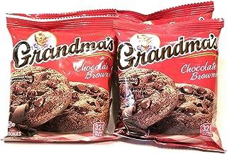 Grandma's Cookies Chocolate Chip Brownie Flavored 4 Packs 2 per Pack