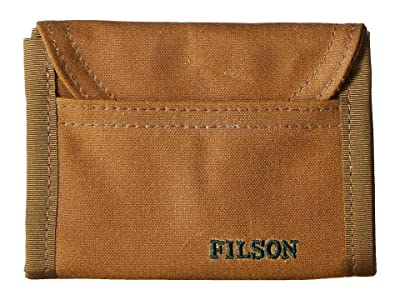 Filson Smokejumper Wallet (Dark Tan) Wallet Handbags