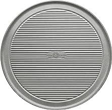 USA PAN 1090PZ Bakeware Aluminized Steel Pizza Pan, 12-Inch Grey