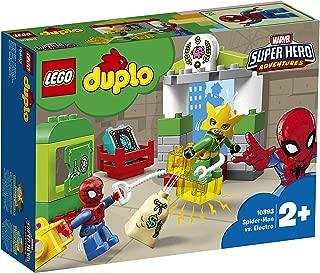 LEGO DUPLO Marvel Super Hero Adventures Spider-Man vs Electro 10893 Building Blocks