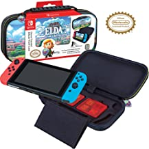 Officially Licensed Nintendo Switch The Legend of Zelda: Links Awakening Carrying Case with Adjustable Viewing Stand and G...
