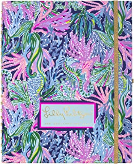 Lilly Pulitzer Jumbo Undated Planner Weekly & Monthly, 12 Month Hardcover Agenda with Notes Pages, Stickers, Laminated Div... photo