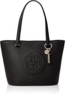 GUESS Women's Celestine Small Tote, Black - VG745622