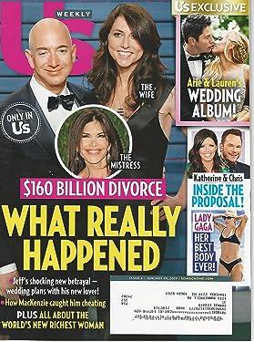 US WEEKLY MAGAZINE JANUARY 21, 2019 I 160 BILLION DIVORCE OF JEFF BEZO AND AMAZON