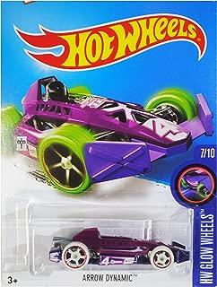 2016 Hot Wheels HW Glow Wheels 7/10 - Arrow Dynamic 52/250