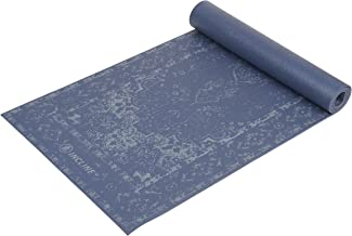 Incline Fit 1469 Thick and Non Slip Printed Exercise Mat with Strap for Yoga, Pilates, Stretching, Meditation