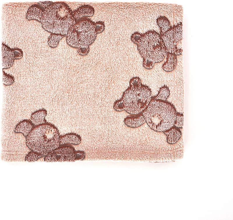 Tadpoles 3D Jacquard Baby Blanket Brown Bears