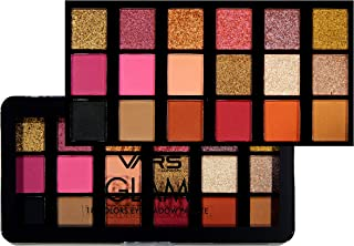 VARS LONDON 18 color matte and shimmer combo eyeshadow palette 20 g (A)