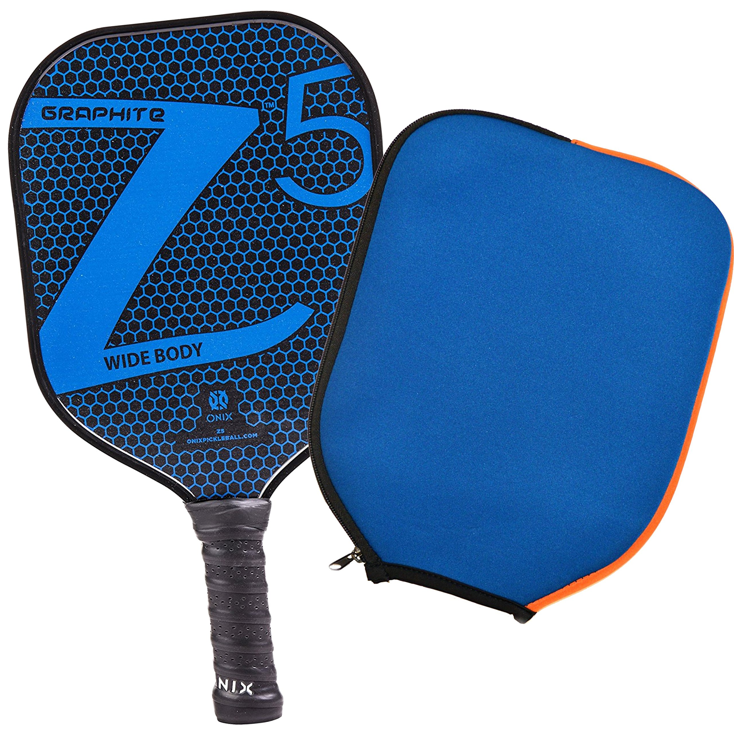 Onix Z5 Graphite Pickleball Paddle and Paddle Cover -69DY
