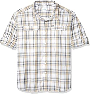 Columbia Men's Silver Ridge 2.0 Plaid Long Sleeve Shirt,Beach