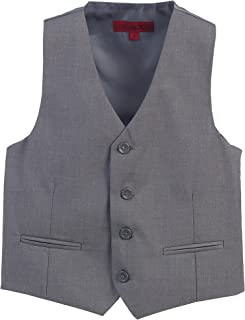 Gioberti Boy's 4 Button Formal Suit Vest