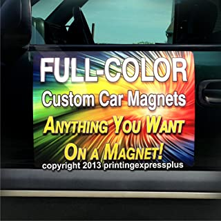 vehicle advertising magnets
