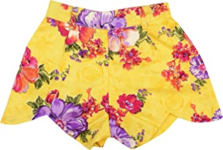 NAICHI Girl Shorts Stylish and Comfortable Yellow Attractive and Fashionable Perfect for Every Occasion