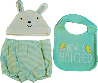 0-3 M Just One You Carter/'s  Easter bloomer and bunny cap diaper cover