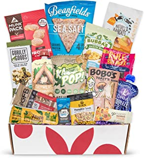 Vegan Gluten Free Dairy Free Healthy Snacks: Perfect Vegan Snacks For A Vegan Christmas Gift Basket, Vegan Care Package, Or Gluten And Dairy Free Snacks Holiday Gift Baskets.