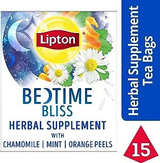 Lipton Herbal Supplement, Bedtime Bliss, 15 ct