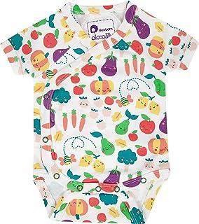 Body à manches courtes pour bébé en coton bio doux pour faire pousser vos propres fruits et légumes