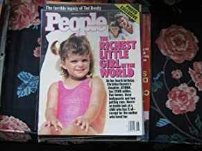 People Weekly (ATHINA ONASSIS...Richerst Girl In The World , PHOTO EXCLUSIVE, February 6 , 1989)