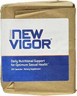 NewVigor® Daily Nutritional Support for Optimum Sexual Health, 120 Capsules