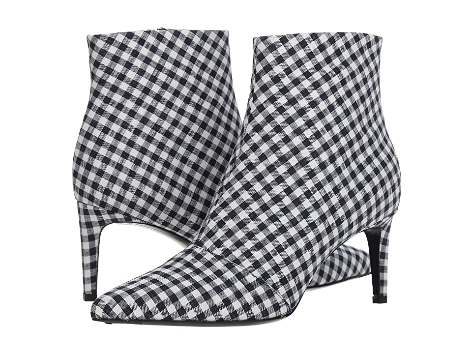 rag & bone Beha Boot (Navy Gingham) Women