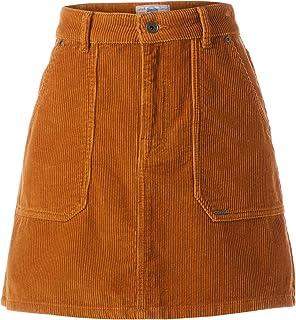 Women's Cord A-line Skirt