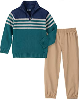 Boys' 2 Piece Sweater Set with Pants