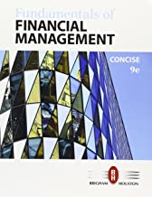 Bundle: Fundamentals of Financial Management, Concise Edition, Loose-leaf Version, 9th + MindTap Finance, 1 term (6 months) Printed Access Card