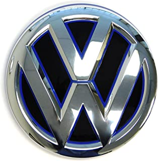"JETTA VW Volkswagen chrome letter emblem Used 13//16/"" tall se tsi thicker letters"