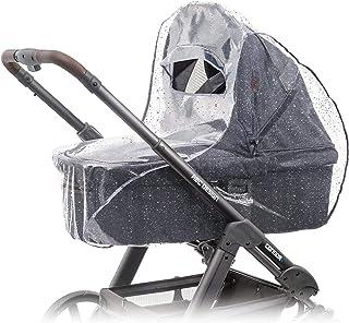 Zamboo Universellt regnskydd för barnvagn (t.ex. Hauck, Joie, ABC-design etc.) | Luftcirkulerande, vattentåligt och hållba...