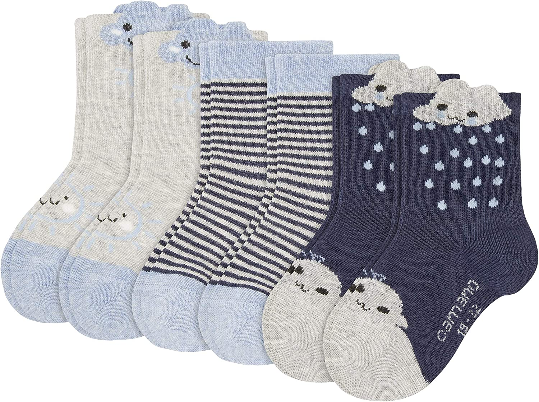 para Beb/és Pack de 6 Camano Calcetines