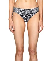Stella McCartney - Mixed Animal and Elastic Fold Down Bikini Bottom