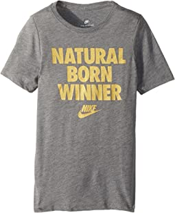 Nike Kids Sportswear Born Winner T-Shirt (Little Kids/Big Kids)