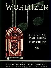 Wurlitzer 1015 Jukebox Service & Parts Manual or Model 1915 Commercial Phonograph