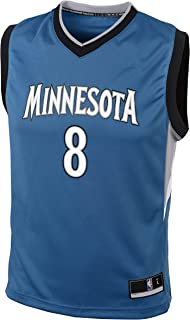 Outerstuff Zach LaVine Minnesota Timberwolves #8 Blue Road Replica Youth Jersey