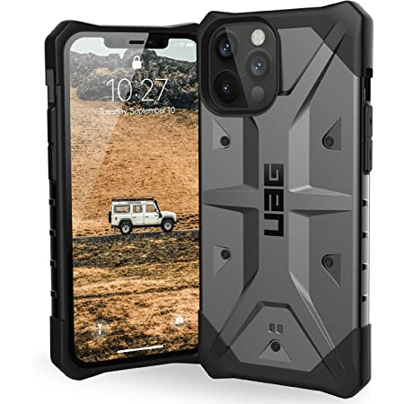 Urban Armor Gear Pathfinder Hülle Apple Iphone 12 Pro Max 6 7 Zoll Schutzhülle Wireless Charging Kompatibel Fallschutz Nach Militärstandard Sturzfest Ultra Slim Bumper Silber Elektronik