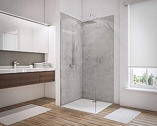 Schulte 4060991008191 Lot de 3 Panneaux muraux pour Salle de Bains DecoDesign 5 profilés, revêtement décoratif 3D Douche, ...