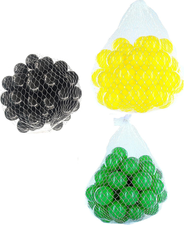 Envío rápido y el mejor servicio Pelotas para pelotas baño variadas Mix con verde, amarillo y y y negro Talla 6000 Stück  precio al por mayor
