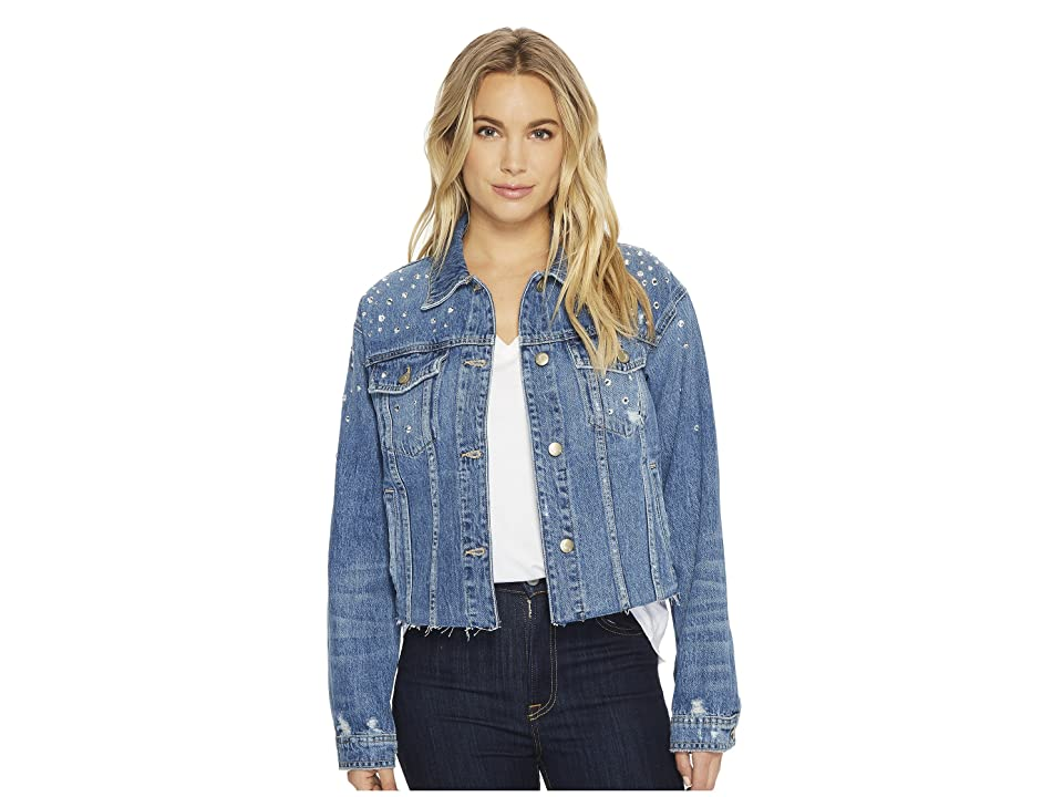 Joe's Jeans The Cropped Boyfriend Jacket (Cyndi) Women's Coat
