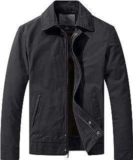 Men's Work Wear Casual Military Lapel Jacket (Regular & Big-Tall Sizes)